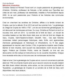 Dauphiné Libéré le 22-11-2014b