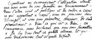 déclaration Vernet Lafabrege