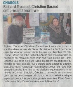 Le Dauphiné Liberé 19-12-2014